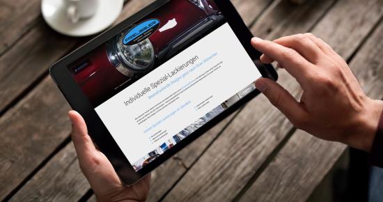 Neue Website, Preussler Kfz-Fachbetrieb