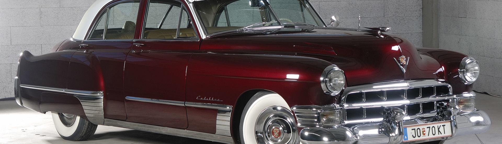 Cadillac Series 62 Sedan 1949, Oldtimer-Restauration im Kfz-Fachbetrieb Preussler in Radstadt, Österreich