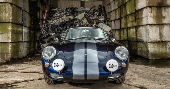Porsche 356 SC, Oldtimer-Restauration im Kfz-Fachbetrieb Preussler in Radstadt, Österreich