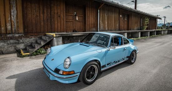 Porsche 911, Modell G, 1976, Oldtimer-Restauration im Kfz-Fachbetrieb Preussler in Radstadt, Österreich