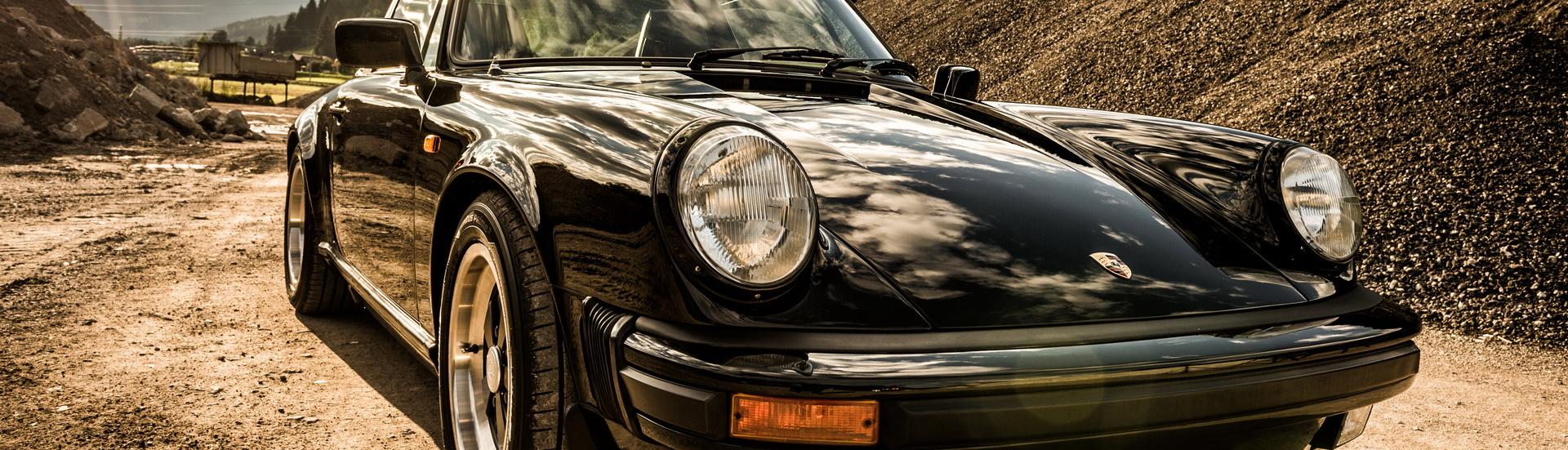Porsche 911 Carrera Targa, 1985, Oldtimer-Restauration im Kfz-Fachbetrieb Preussler in Radstadt, Österreich