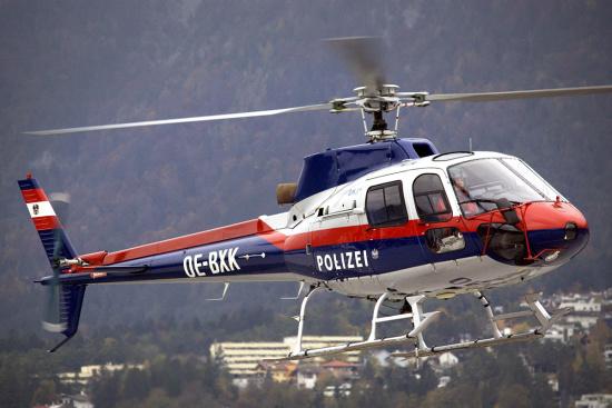 Hubschrauber, Spezial-Lackierungen in Oesterreich, Preussler Kfz-Fachbetrieb